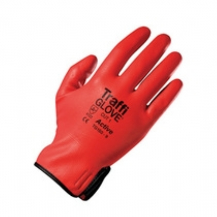 TG180 Active Nitrile Coated Red TraffiGlove