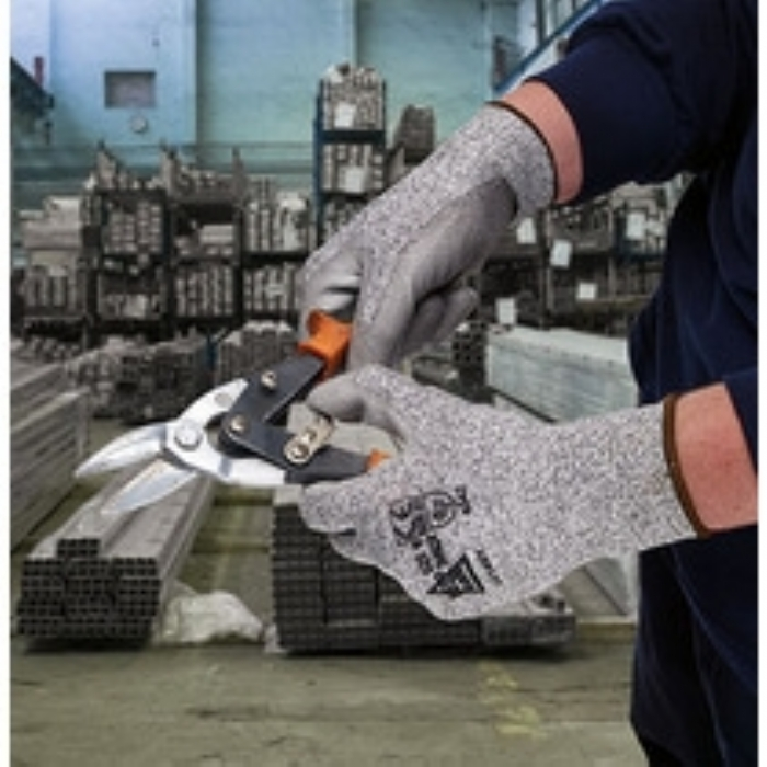 Keep Safe Cut Resistant Level 3 PU Coated Glove