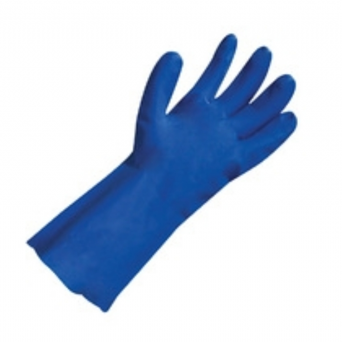 Polyco Nitri-Tech III Flock Lined Nitrile Glove Category III