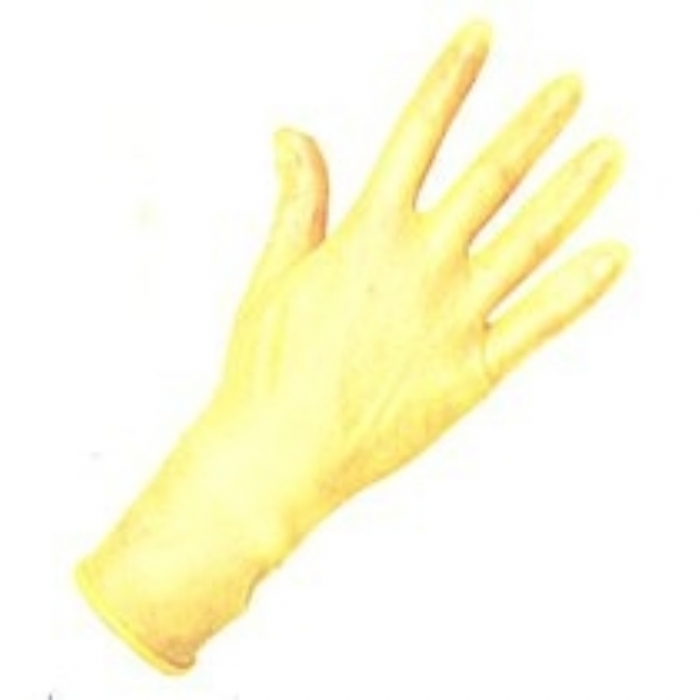 Keep Safe Natural Rubber Glove