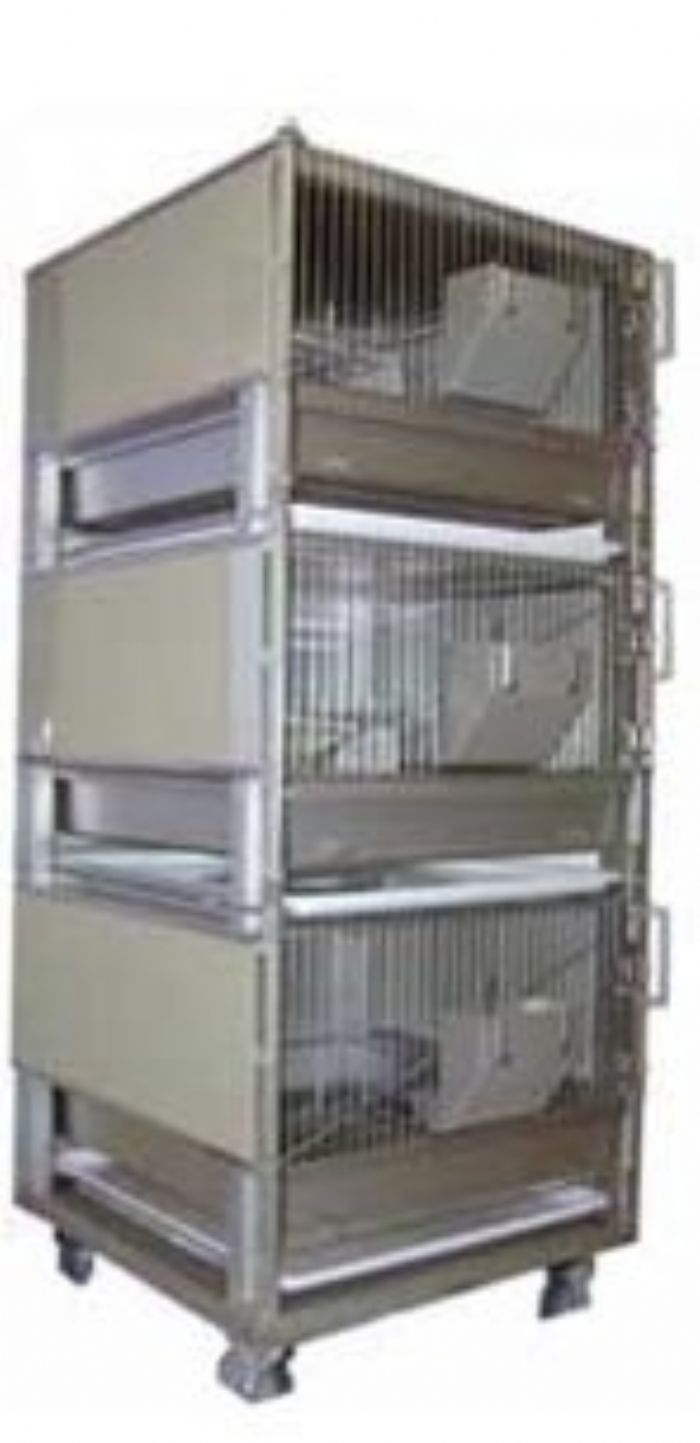 Rabbit Rack 3 Cages