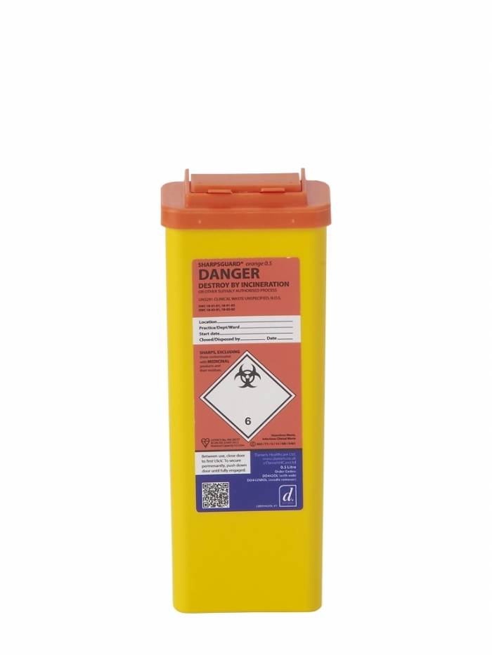 SHARPSGUARD orange 0.5 (needle remover)