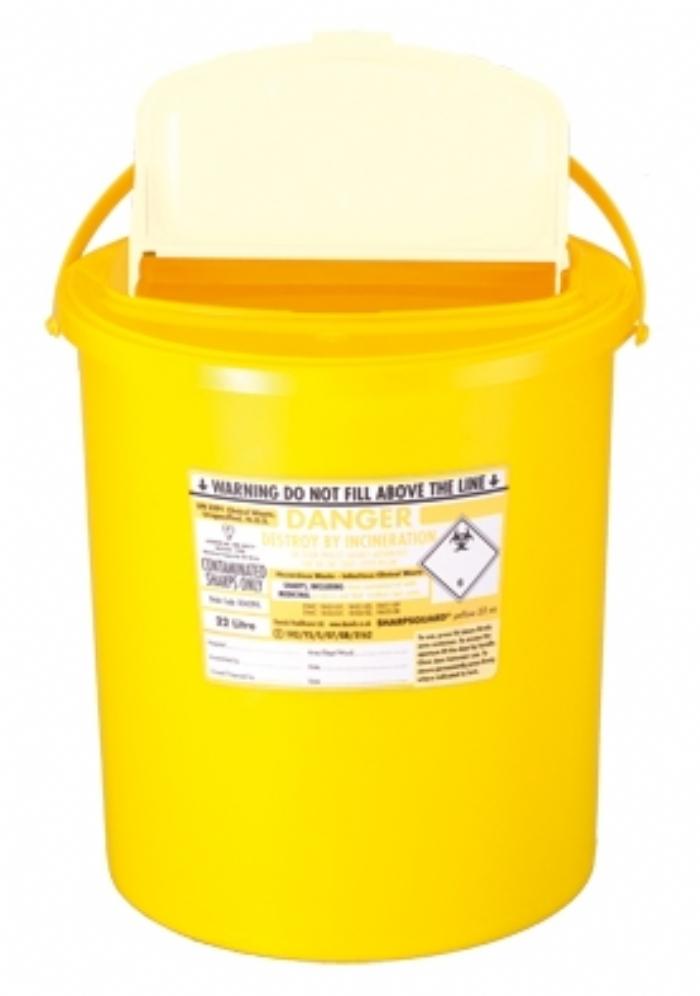 SHARPSGUARD yellow 22 xa
