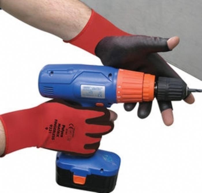 Matrix Fingerless Gloves