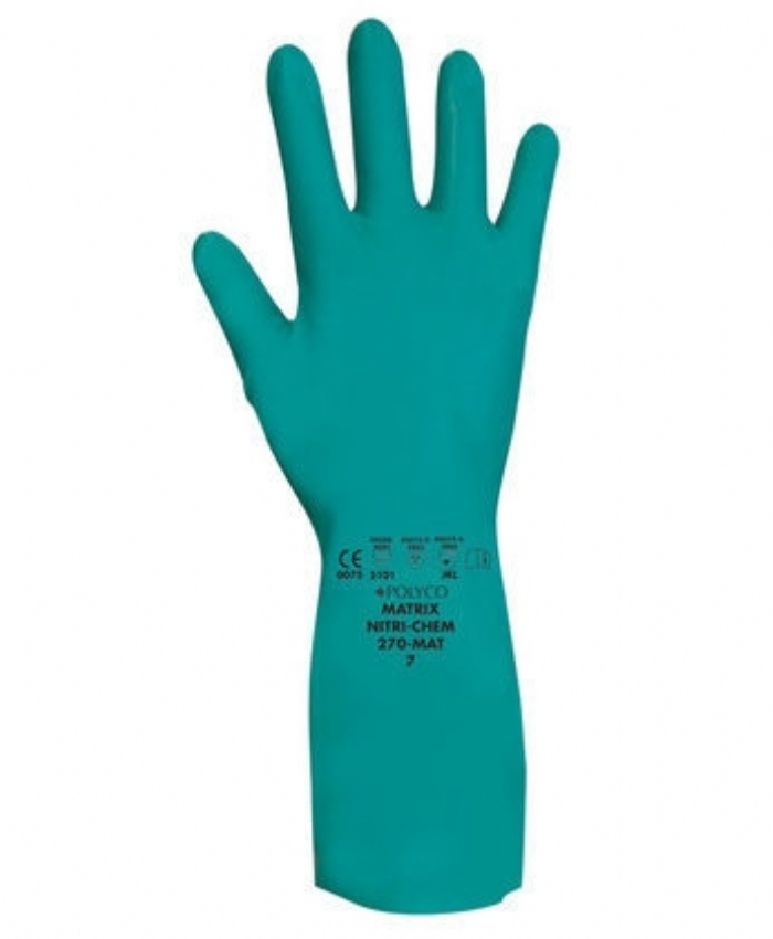 Matrix Nitri-Chem Gloves
