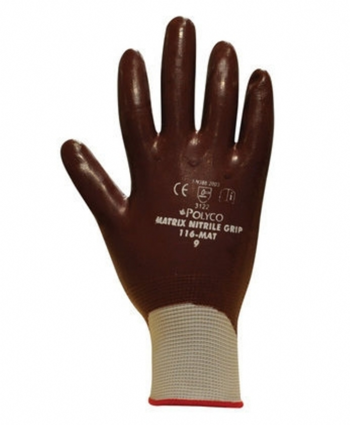 Matrix Nitrile Grip Gloves