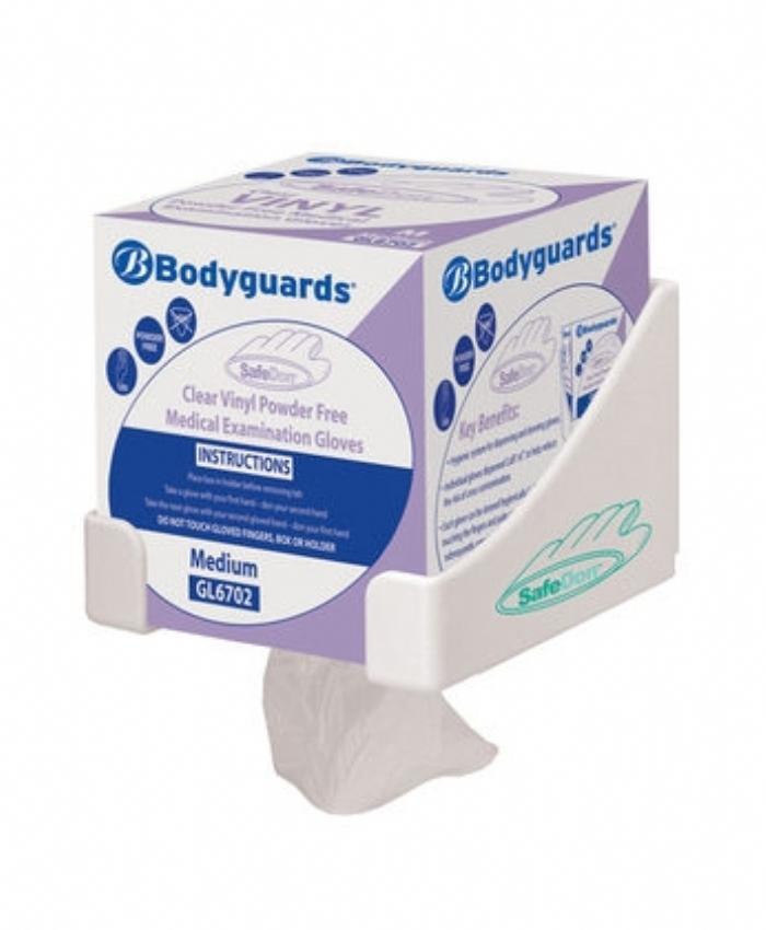 GL670 Bodyguards SafeDon Clear Vinyl PF Gloves