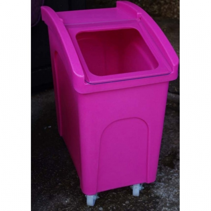 Wheeled Animal Feed and Bedding Bin