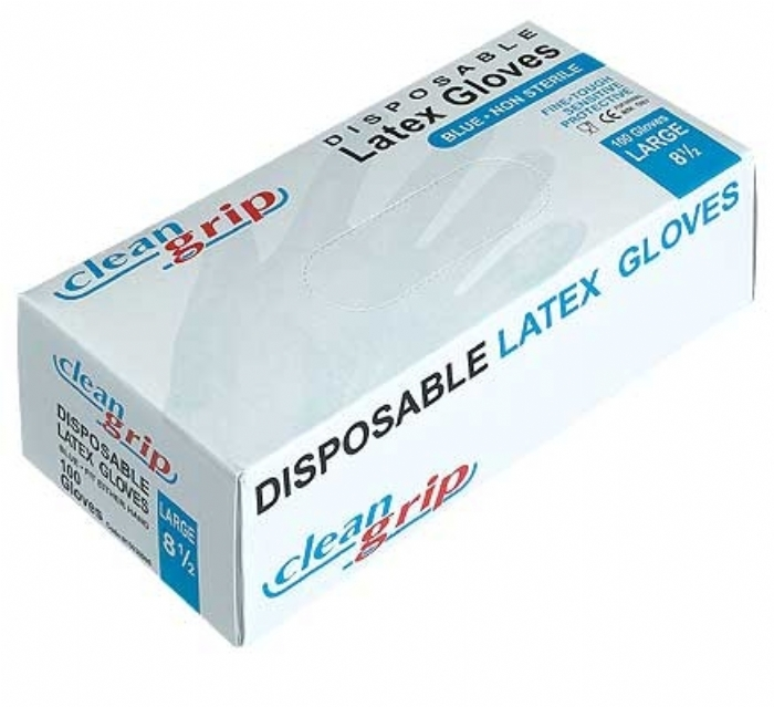 Clean Grip Disposable Latex Powdered Gloves