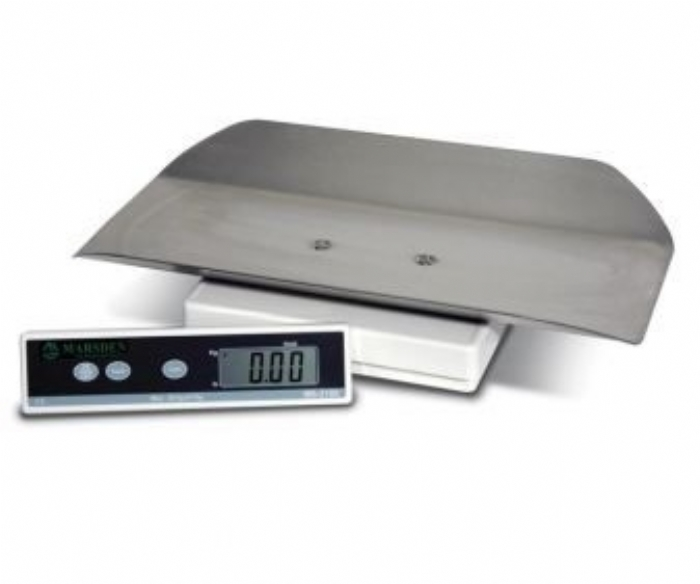 Marsden MS-2100SS small animal scale with Stainless Steel Tray