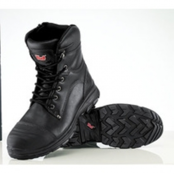 Tuf 8.5' Hi-Leg Zip Safety Boot with Midsole