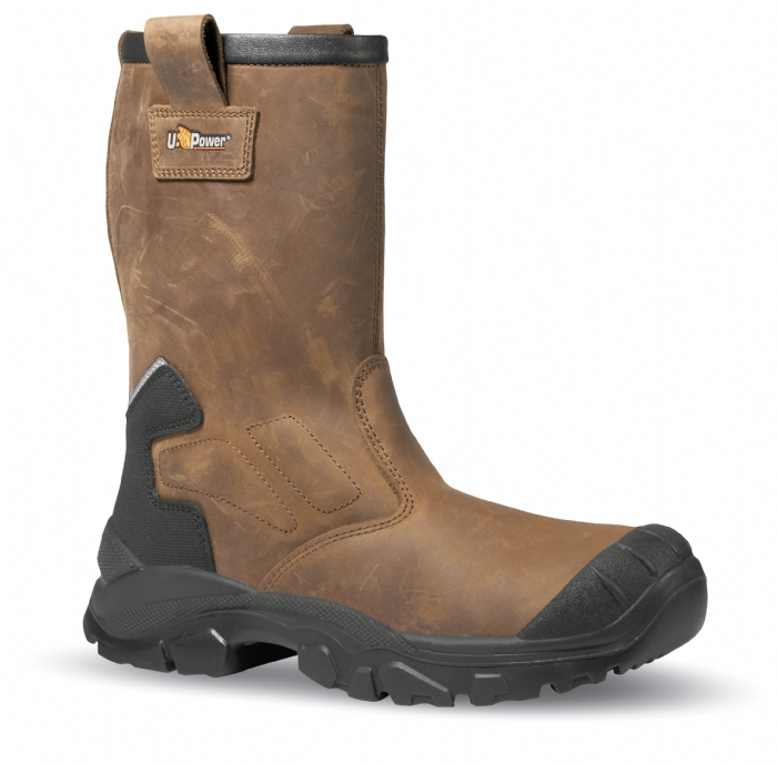 U-Power Alaska Non-Metallic rigger safety boot with midsole