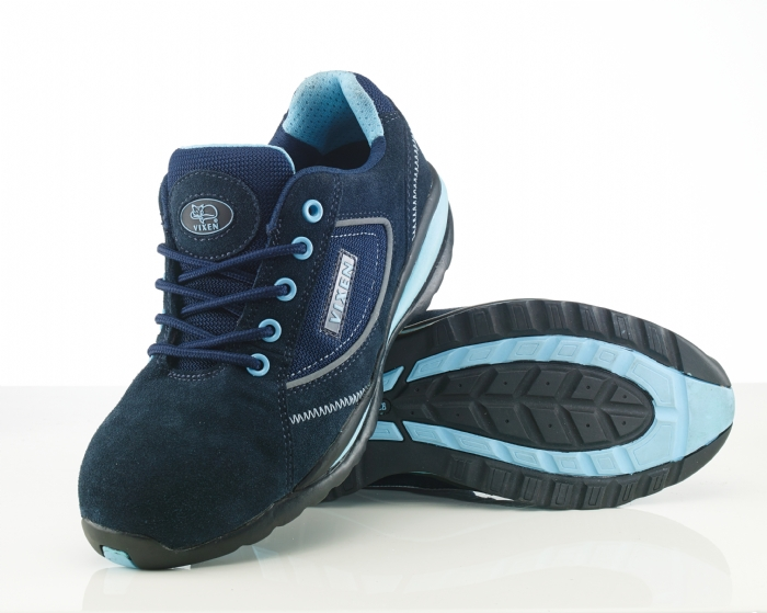 Rock Fall VX700 Pearl Non Metallic ladies ESD safety trainer with midsole