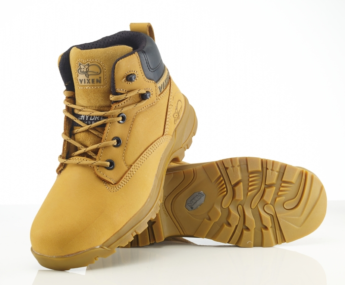 Rock Fall VX950C Onyx Non Metallic waterproof ladies safety boot with midsole