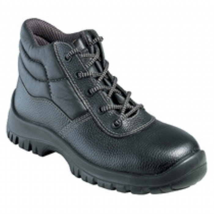 Tuf Grain leather non-metallic safety boot with midsole