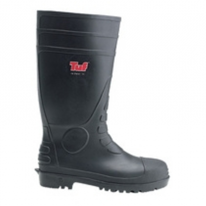 Tuf safety wellington boot with midsole