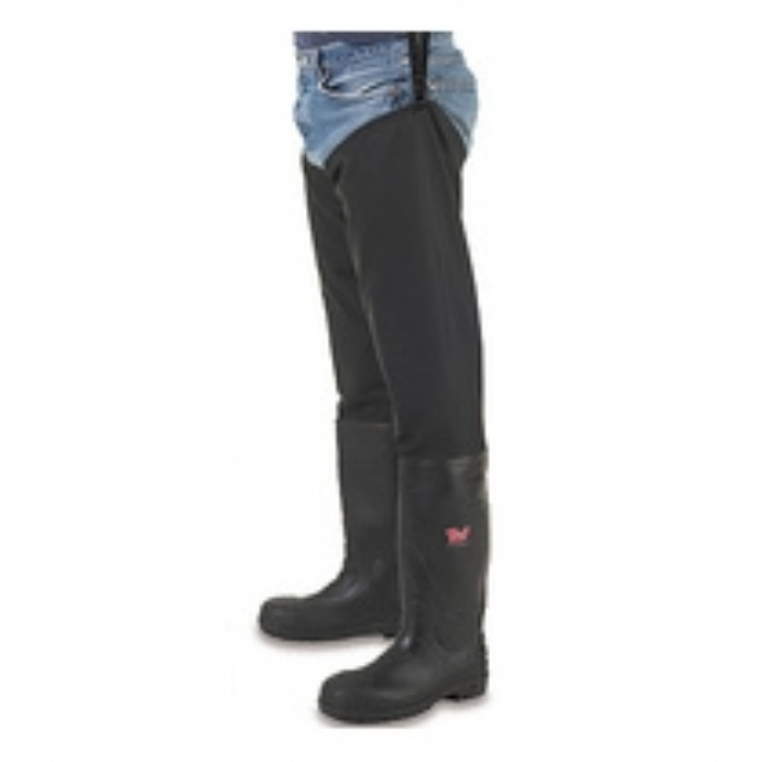 Tuf safety Thigh wader with midsole