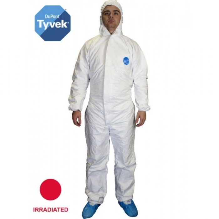 Style No. 6014 - Sterile Tyvek Coverall - Type 5/6