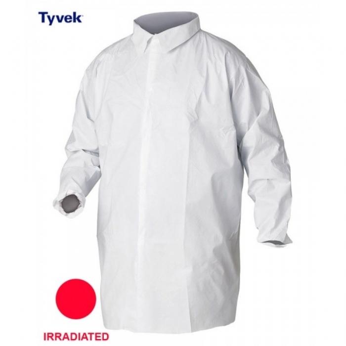 Style No. 6024 - Sterile Tyvek Stud Fasten Jacket