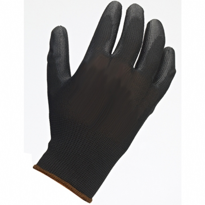 Black PU Palm Coated Glove