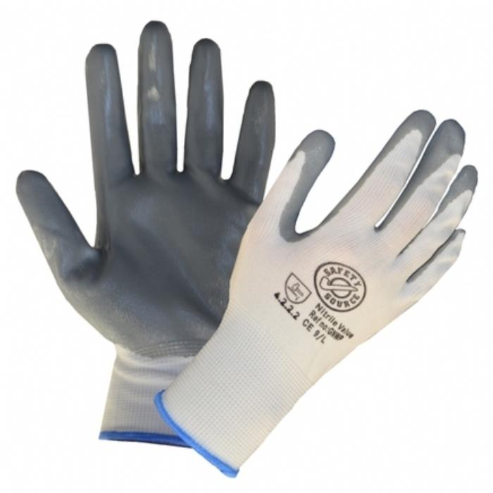 Nitrile Palm Coated Knitwrist Glove