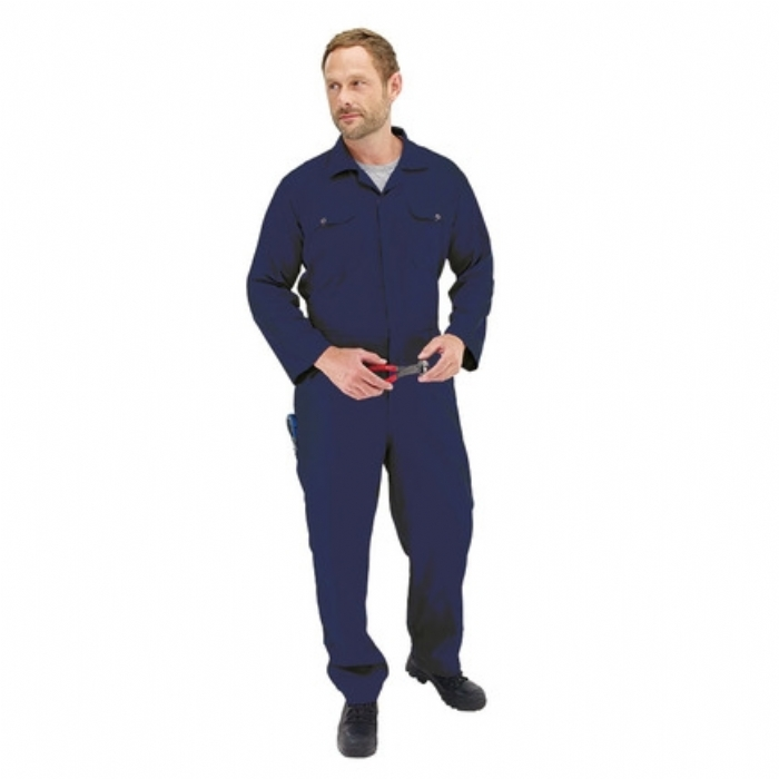 Boilersuit Polycotton Target Contractor Navy Blue