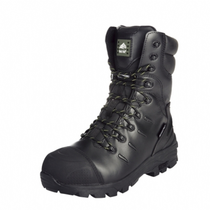 Rock Fall Monzonite Hi-Leg Metatarsal Non-Metallic Waterproof Safety Boot with Midsole