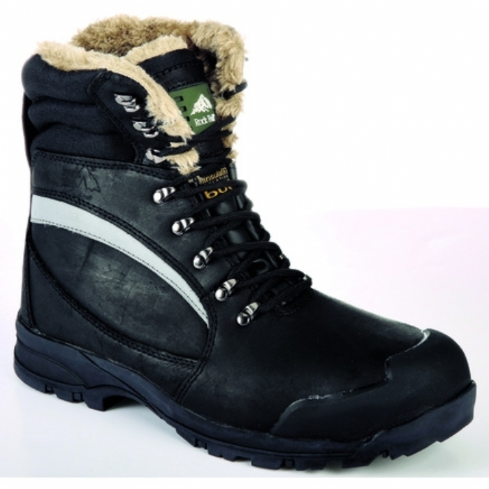 Rock Fall Alaska Hi-Leg Freezer Safety Boot with Midsole