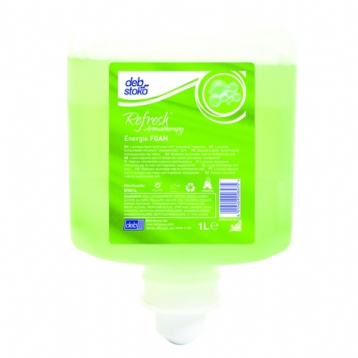 Deb Stoko Refresh Energie Foam Wash 1L