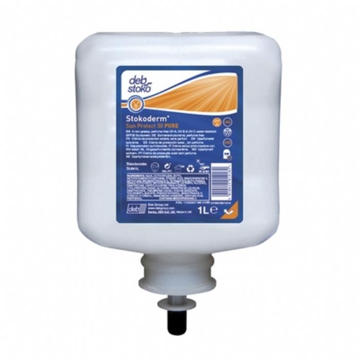 Deb Stoko Stokoderm Sun Protect 30 Pure Sunscreen 1L