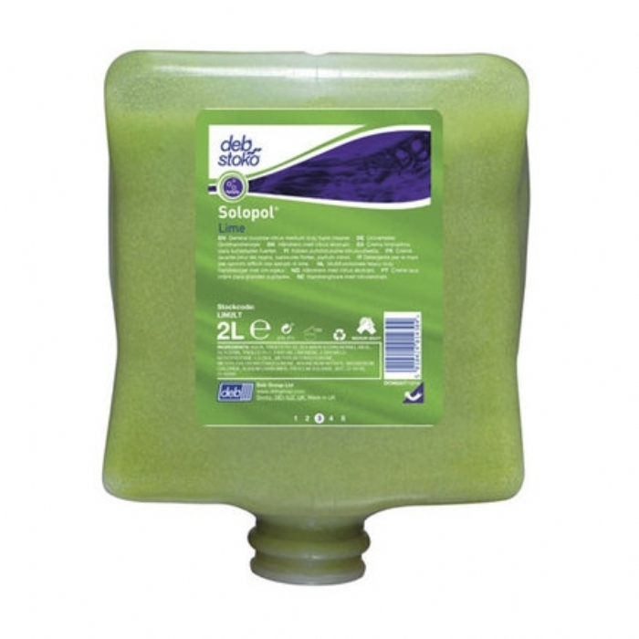 Deb Stoko Solopol Lime Hand Cleanser 4L