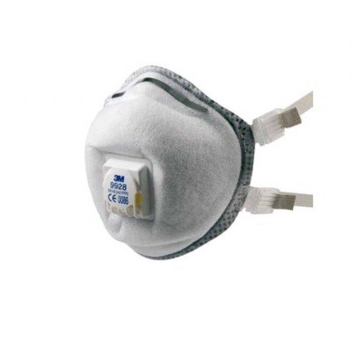3M 9928 Valved Premium Welding Fume Respirator