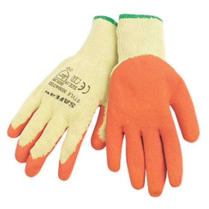 Orange Builder Grip Gloves