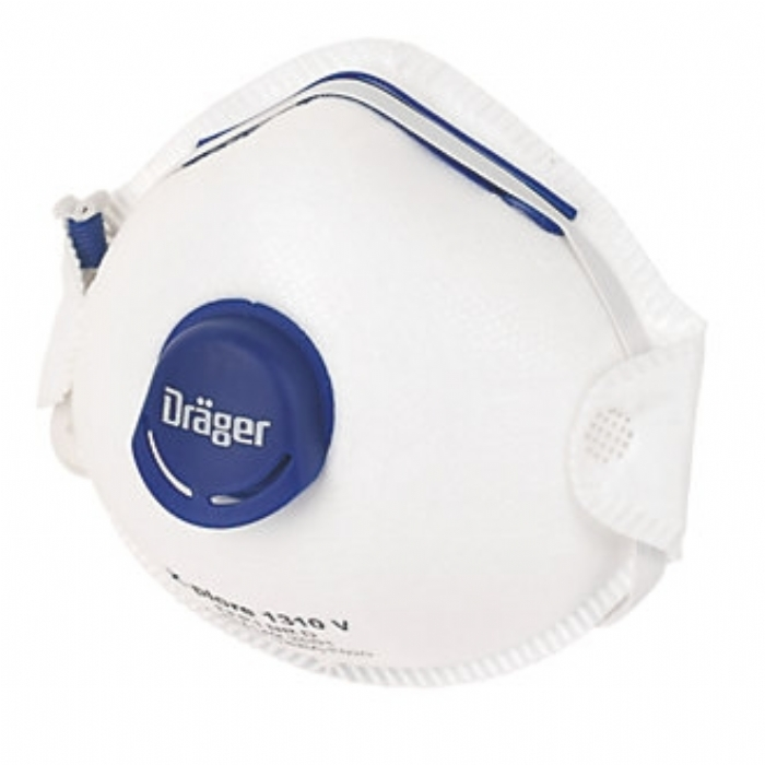 Drager X-plore 1310V FFP1 Moulded Respirator, box of 10