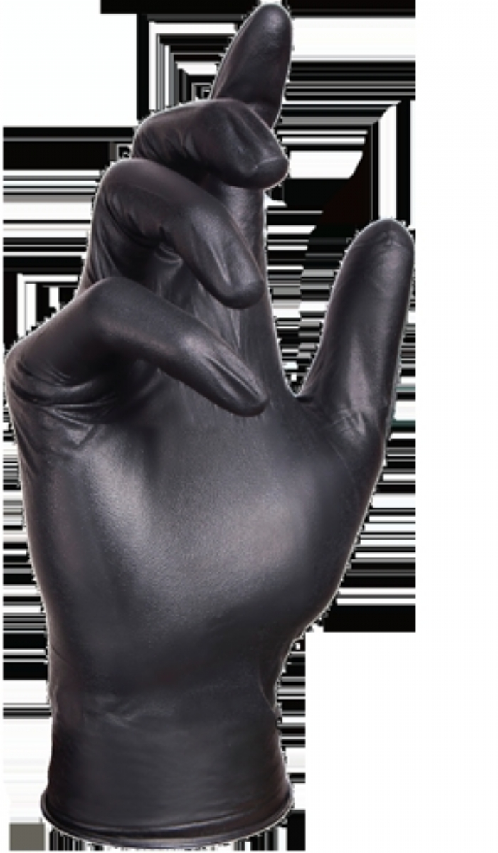 Select Black Nitrile Powder Free Gloves