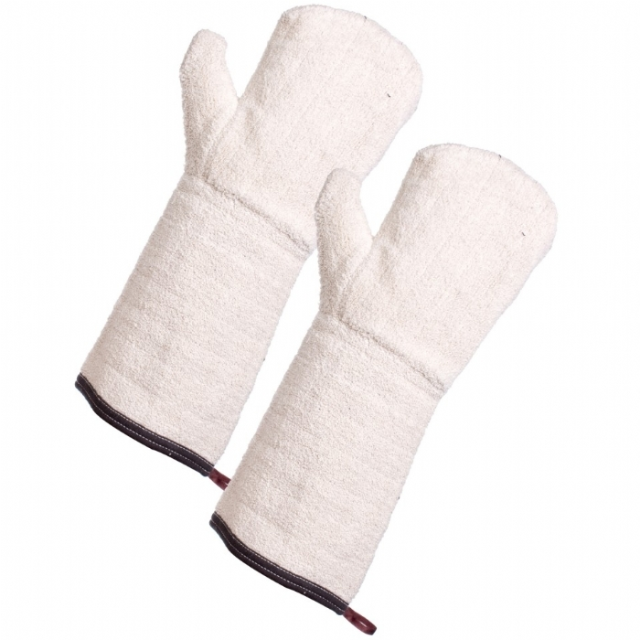 Terry Cotton Oven Mitten