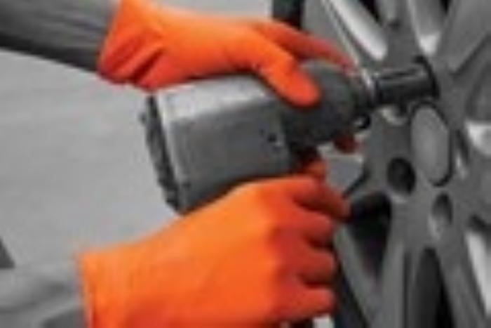 GL200 Finite® Orange HD Nitrile Gloves