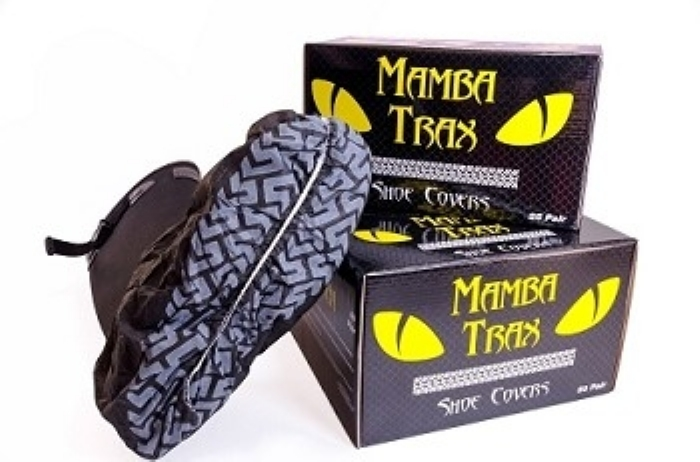 Mamba Trax Disposable Shoe Covers and Overshoes