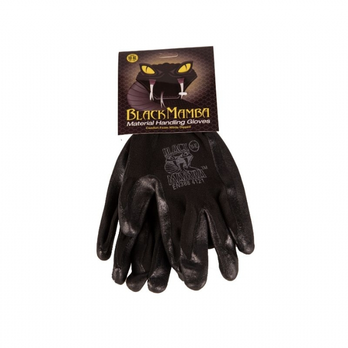 Foam Nitrile Dipped Glove - EN388 4121