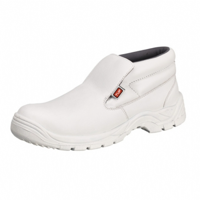 Tuf Unisex Microfibre Slip-On Safety Toe Boot