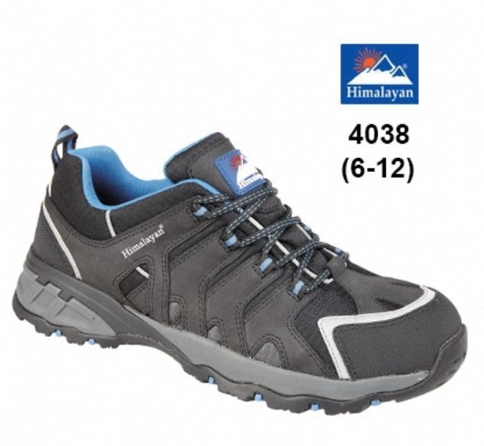 HIMALAYAN Black Himalayan EVA Rubber Safety Shoe