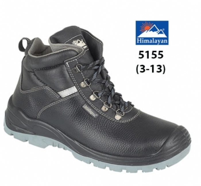HIMALAYAN  Black Iconic 5-ring Safety Boot