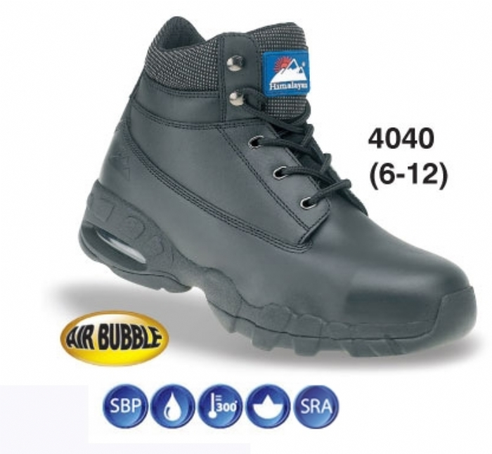 HIMALAYAN Black AirBubble Trainer Shoe