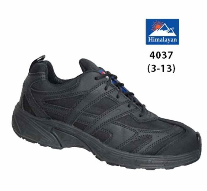 HIMALAYAN   Black Micro-Sport Trainer with Gravity 2 Sole
