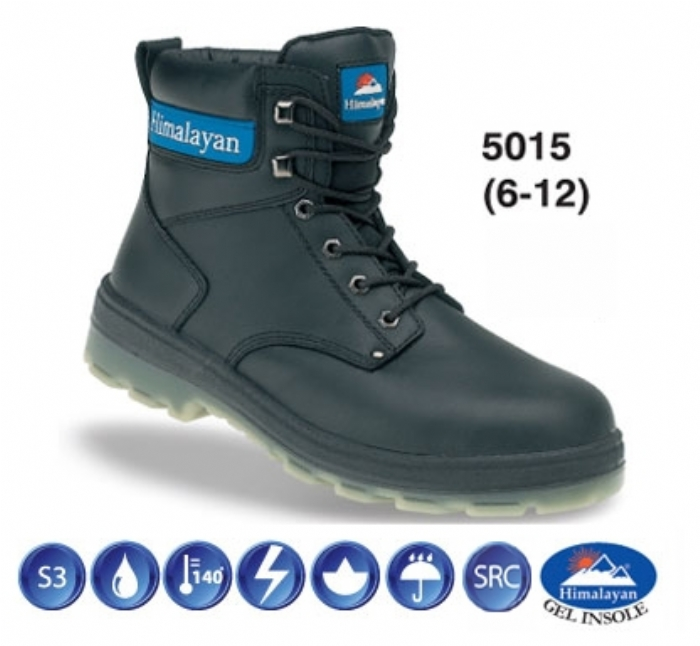 HIMALAYAN Black Safety Boot