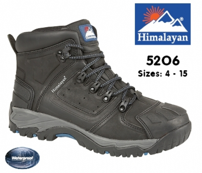 HIMALAYAN Black Waterproof S3 Safety Boot