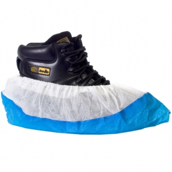 Supertouch CPE/PP Deluxe Disposable Overshoe
