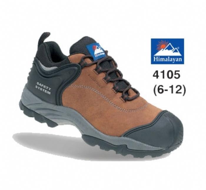 HIMALAYAN Brown Nubuck Fully Waterproof Shoe Metal Free Cap/Midsole Gravity 2 Sole