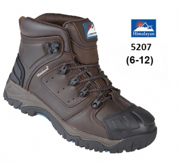 HIMALAYAN Brown Waterproof S3 Safety Boot