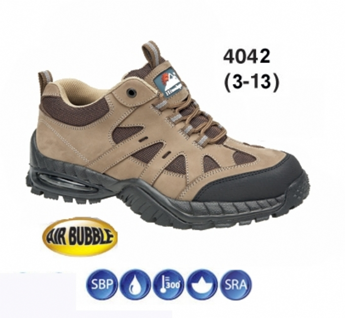 HIMALAYAN Honey Nubuck air Bubble Trainer Shoe with EVA/Rubber Sole & Midsole